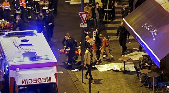 اخر إحصائية لليوم جراء الإعتداءات الباريسية تبين مقتل 129 وإصابة 352 جريح