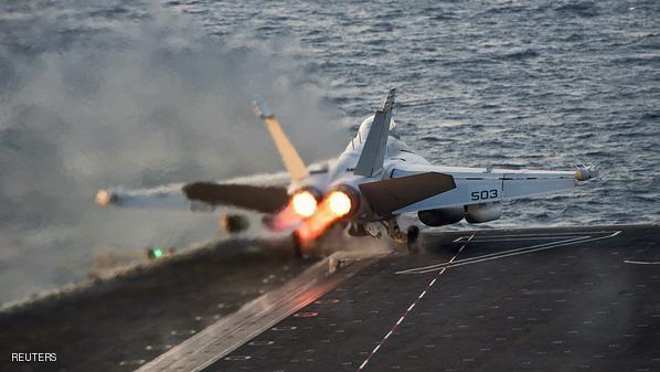 التحالف الدولي يتوقف عن شن الضربات الجوية في سوريا