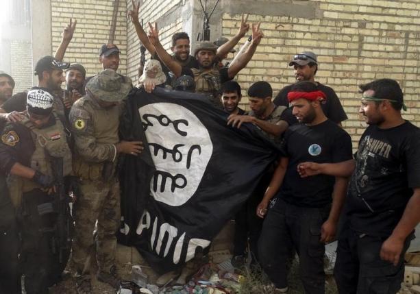 دروع بشرية في مدينة الرمادي العراقية