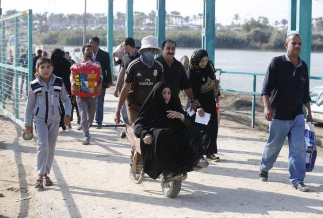 الجيش العراقي يطلب من سكان الرمادي مغادرة المدينة بسبب سيطرة داعش عليها