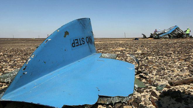 إجماع دولي على تحطم الطائرة الروسية بسبب إنفجار