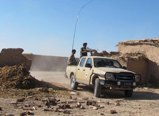 القوات الأفغانية تخوض معركة لدحر طالبان في هلمند