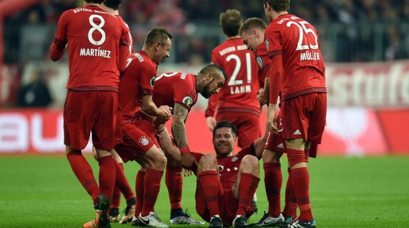اهداف مباراة بايرن ميونخ 1-0 دارمشتات  | كأس ألمانيا 15/12/2016