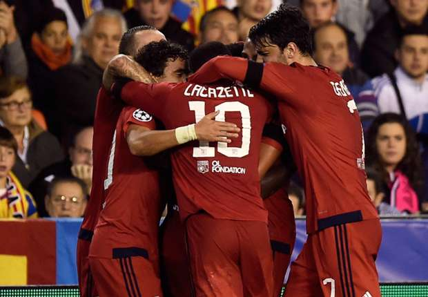 اهداف مباراة فالنسيا 0-2 أولمبيك ليون | دوري أبطال أوروبا 9/12/2015