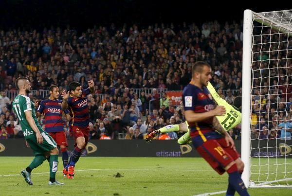فيديو | أهداف مباراة برشلونة 3-1 إيبار تعليق أحمد الطيب HD