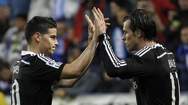 بيل وجيمس رودريغيز يعودان إلى تشكيلة ريال مدريد اليوم أمام إشبيلية