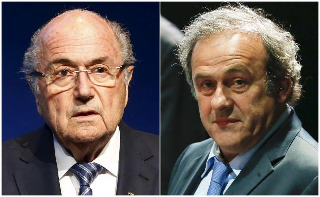 الحكم على رئيس الفيفا والرئيس الأوروبي لكرة القدم