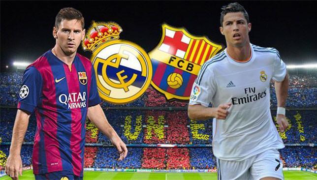 كلاسيكو برشلونة وريال مدريد الليلة في لقاء الذهاب المستعر بين عملاقة الكرة الاسبانية على ملعب الكامب نو