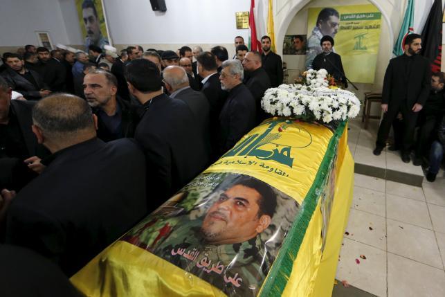 حزب الله يدفن سمير القنطار ويتوعد بالانتقام من إسرائيل
