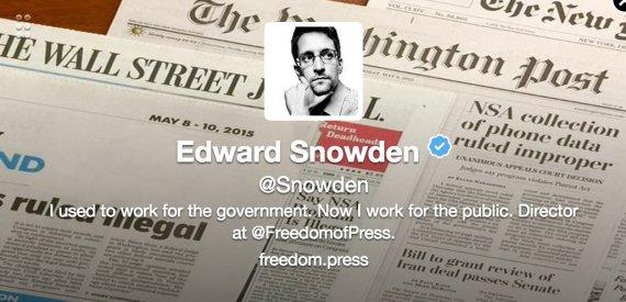 سنودن ينضم إلى تويتر ويحصد آلاف المتابعين خلال ساعه