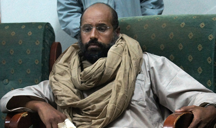 سيف الإسلام القذافي خارج السجن وتنديد من المجلسين البلدي والعسكري في الزنتان