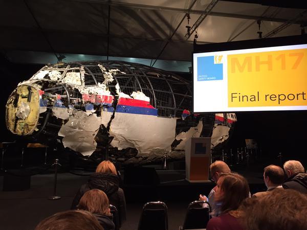 الكشف عن سبب سقوط الطائرة الماليزية في أوكرانيا