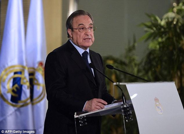الرئيس فلورنتينو بيريز يوضح موقف النادي من قرار استبعاده من بطولة كأس الملك