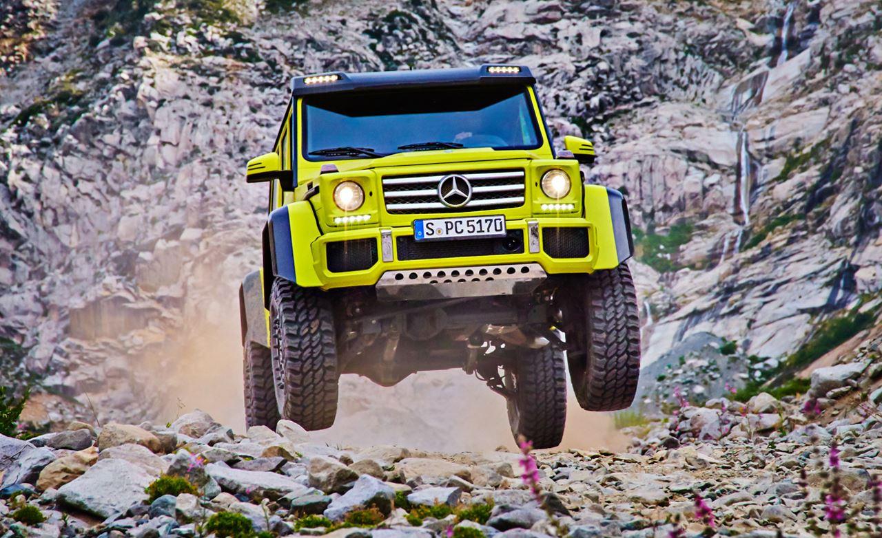 مرسيدس 4×4 2016 صور ومواصفات السيارة الأقوى للطرق الوعرة