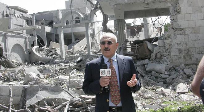 الكشف عن موقع إختباء علي عبدالله صالح