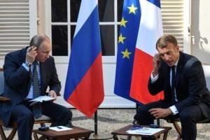 ماكرون يشترط حل الأزمة الأوكرانية قبل عودة روسيا إلى مجموعة الثماني