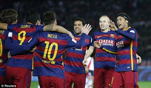 اهداف مباراة برشلونة 3-0 ريفر بليت | نهائي كأس العالم للأندية 20/12/2015