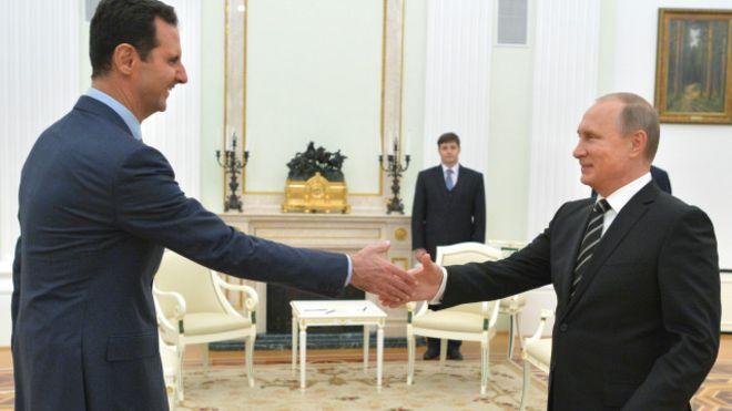 البيت الأبيض ينتقد استقبال روسيا للرئيس السوري بشار الأسد