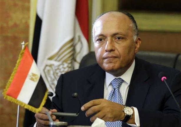 وزير الخارجية المصري يؤكد تأيد مصر للغارات الروسية في سوريا