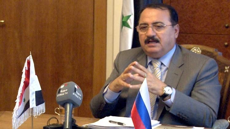 السفير السوري في موسكو ينفي وجود قوات برية روسية في سوريا
