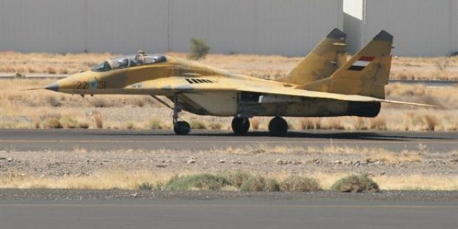 سلاح الجو اليمني ينضم للمرة الأولى للتحالف العربي