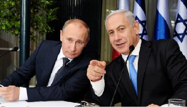 التدخل الروسي في سوريا و التنسيق مع دولة الإحتلال