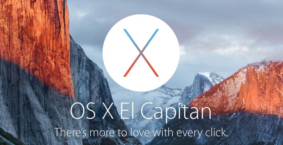 آبل تعلن عن نظام التشغيل OS X El Capitan