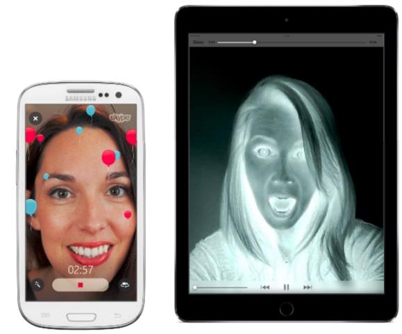 سكايب يحصل على تحديث لدعم ميزة الفلاتر و3D Touch