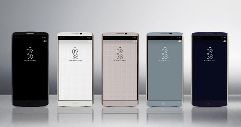 LG تعلن عن هاتف V10 بشاشتين وكاميرتين أمامية