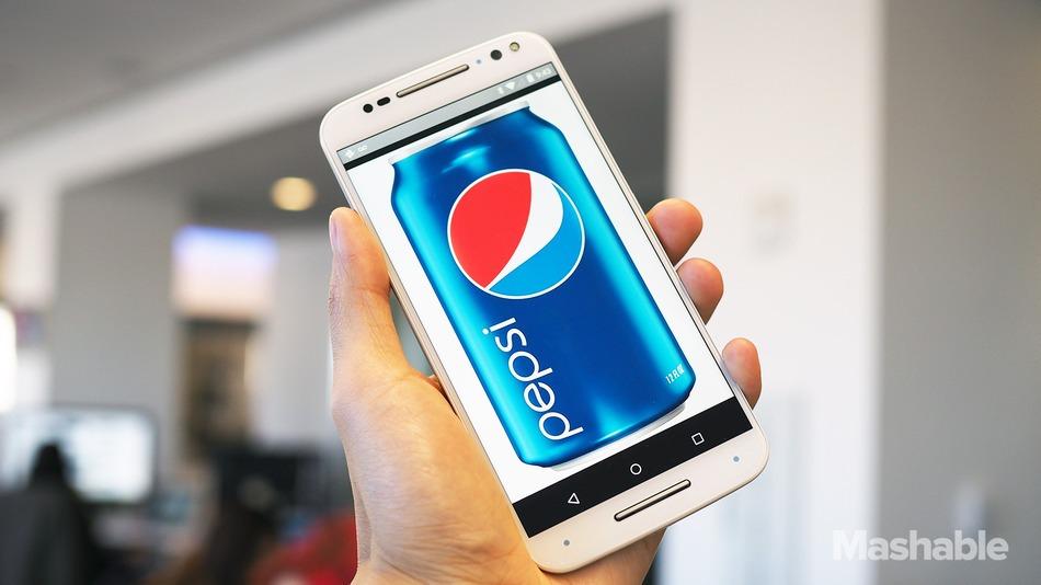 شركة بيبسي تؤكد دخولها سوق الأجهزة المحمولة