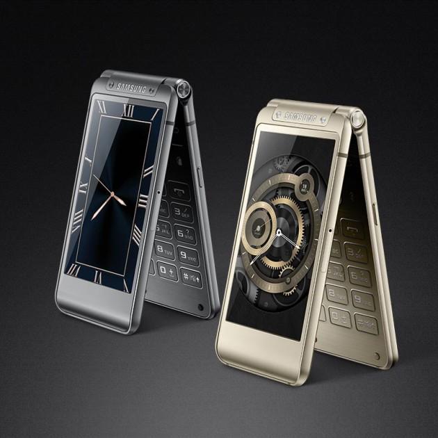 سامسونج تكشف عن هاتف W2016 بشاشتين