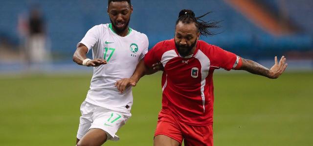 المنتخب السعودي بفوز على منتخب غينيا الاستوائية ودياً