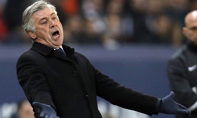 أنشيلوتي يرفض العوده لتدريب ميلان الإيطالي