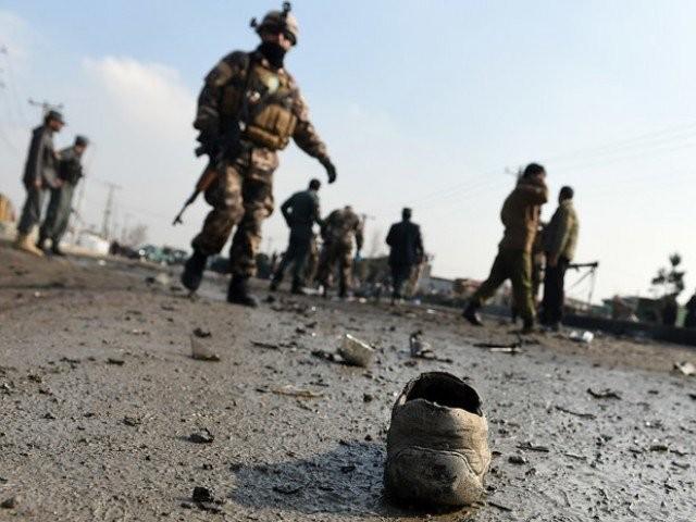 مقتل خمسة في هجوم انتحاري على دورية أمريكية أفغانية مشتركة
