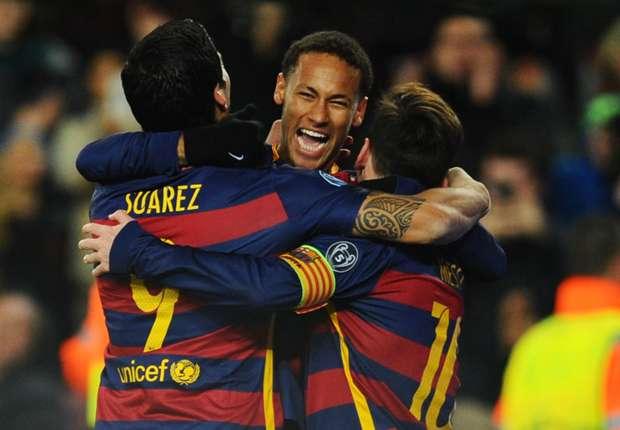 اهداف مباراة برشلونة 6-1 روما | 25/11/2015