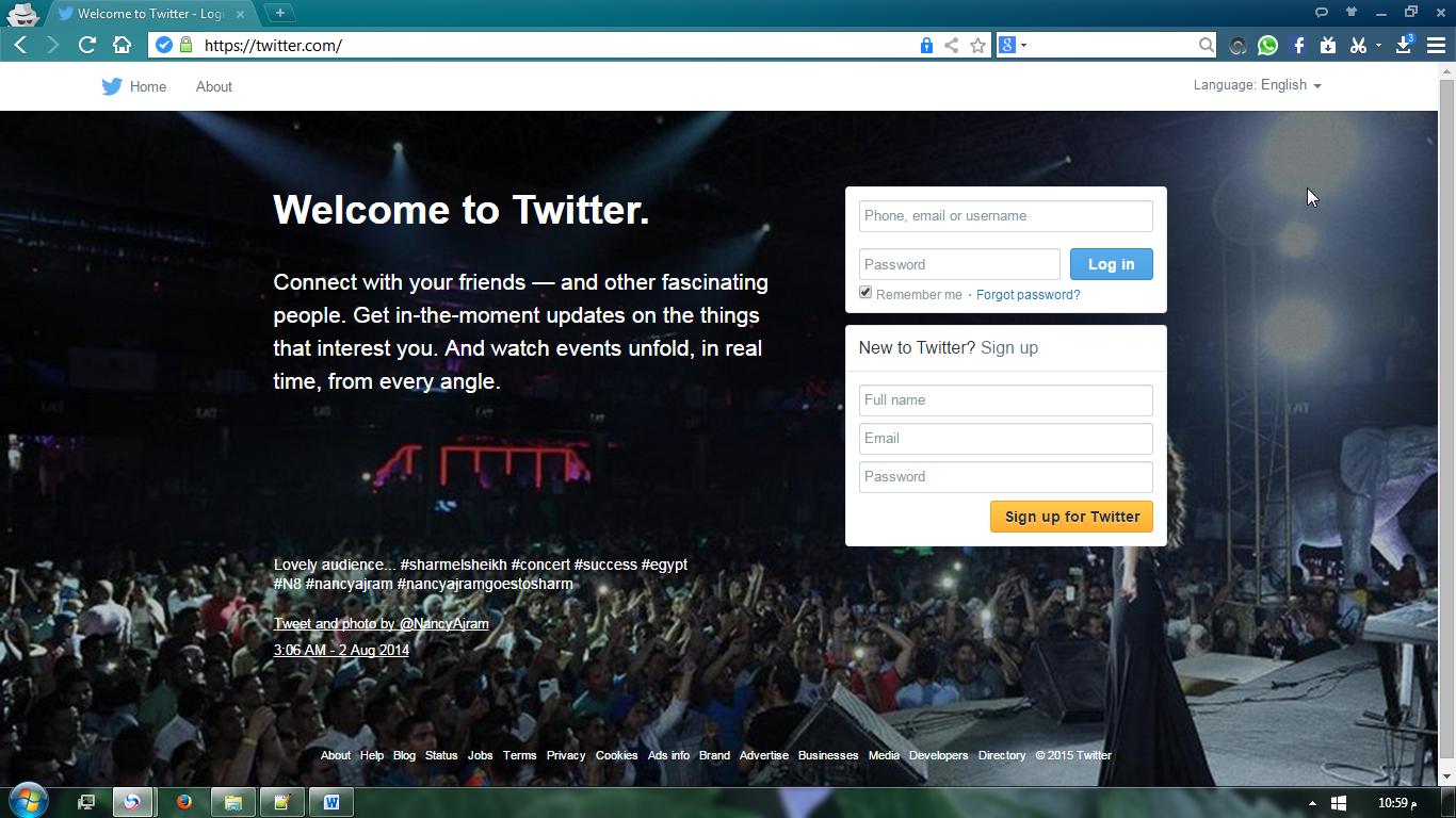 التسجيل في تويتر ، انشاء حساب twitter بدون رقم جوال او بهاتف وهمي