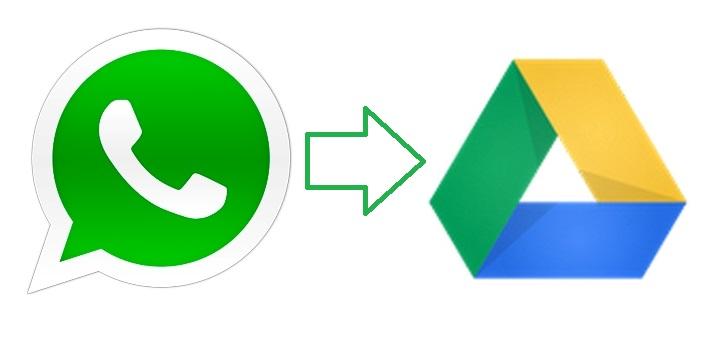 طريقة أخد نسخة إحتياطية من محادثات Whatsapp على جوجل درايف